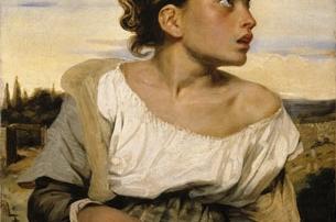 Jeune orpheline - Eugéne Delacroix - armaenia editorial