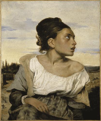 Jeune orpheline - Eugéne Delacroix - Armaenia Editorial - Huérfanos de Dios